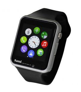 Reloj Smartwatch Sami Glaze WS2308 negro/ plata