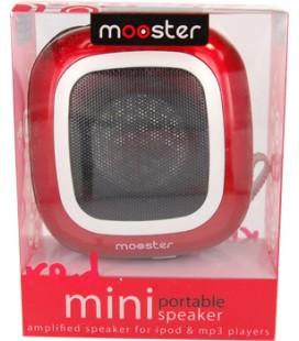 Mini altavoz portatil Mooster amplificado jack 3.5 red 700291