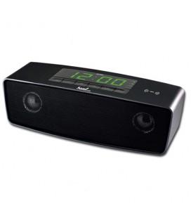 Altavoz bluetooth con radio y reloj Sami RS 944 negro