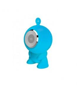 Altavoz bluetooth Conceptronic CSPKBTWPHFB waterproof micro SD azul