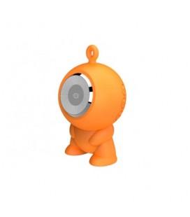 Altavoz bluetooth Conceptronic CSPKBTWPHFO waterproof micro Sd naranja