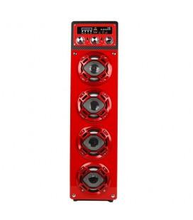 Altavoz bluetooth Sami RS 10902 rojo karaoke