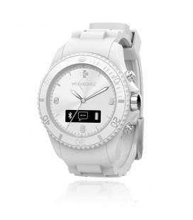 Reloj smartwatch analogico Mykronoz Zeclock blanco