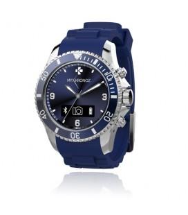 Reloj smartwatch analogico Mykronoz Zeclock azul