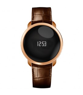 Reloj pulsera actividad Mykronoz Zecircle Premium oro rosa / marron