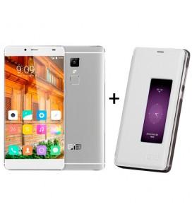 Elephone S3 3+16GB libre blanco/plata.  Regalo funda tipo libro.